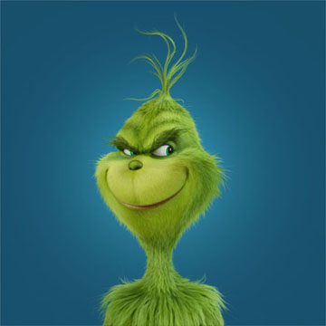 Benedict Cumberbatch's Grinch by Illumination Entertainment and Universal Pictures'