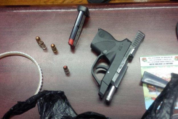 photo released by authorities of gun taken to New York school by 8-year-old student