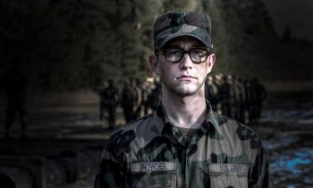 JGL as Edward Snowden in Oliver Stone's upcoming film