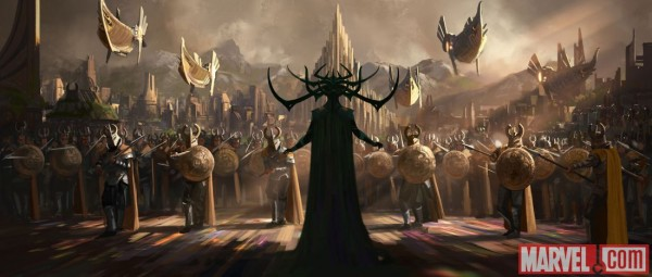 thor-ragnarok-concept-art-hela and army 5