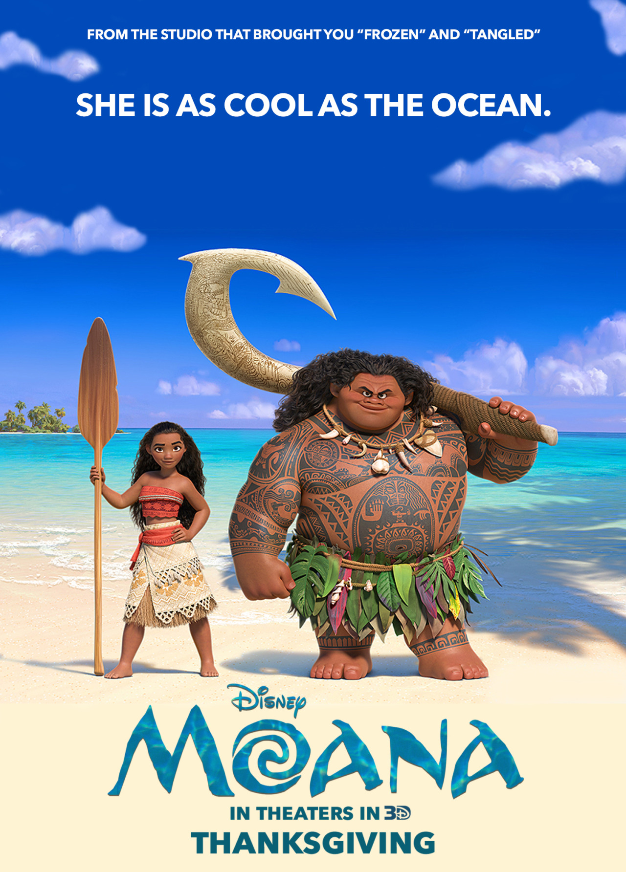 Image result for moana 2016 poster