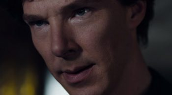 Benedict Cumberbatch Sherlock season 4 close up photo