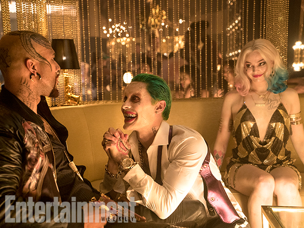 Common as Monster T Jared Leto as Joker Margot Robbie harley Quinn suicide squad photo