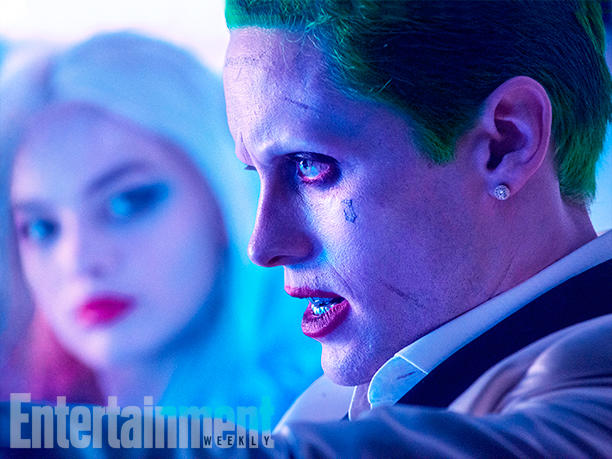 Jared Leto Margot Robbie Joker Suicide Squad driving car