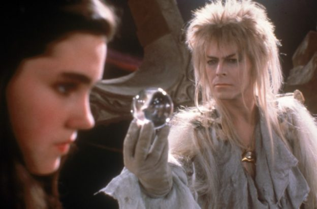 Jennifer Connolly David Bowie Labyrinth movie photo