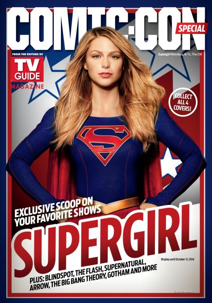 Supergirl TV Guide 2016 SDCC Preview