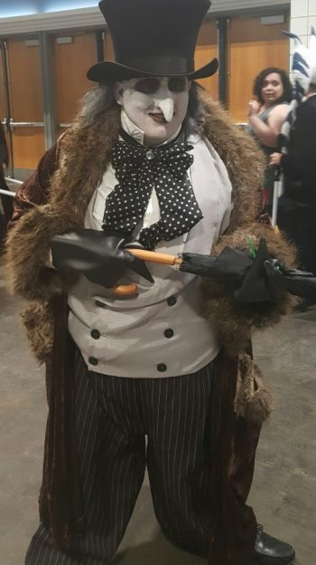 On day one of the Tampa Comic-Con it was this Penguin Cosplay that wowed guests photo/ Brandon Jones