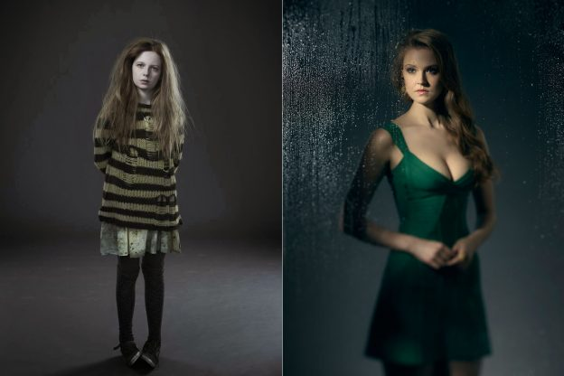 gotham-poison-ivy-pic-younger-and-old-side-by-side
