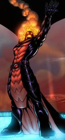 Dormammu  art by  Kevin Maguire from Defenders vol 3 #1