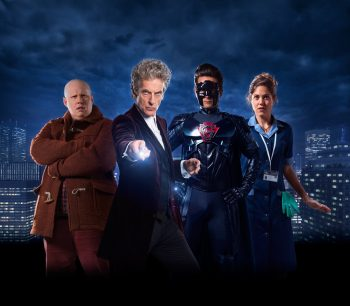 Matt Lucas, Peter Capaldi, Justin Chatwin and Charity Wakefield.