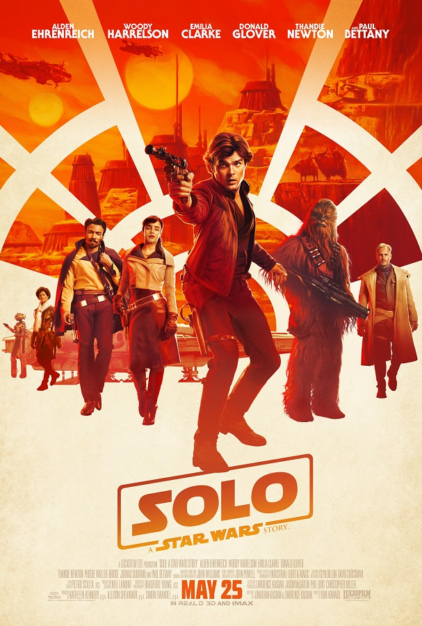 Solo Trailer Poster Sets Up Thrills Alden Ehrenreich S Han Solo Getting His Shot The