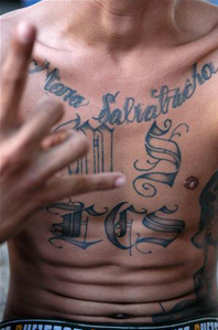 FBI photo ms-13 tattoo