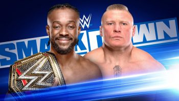 WWE Championship Match Kofi Kingston vs. Brock Lesnar