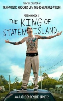 king of staten island movie poster with pete davidson