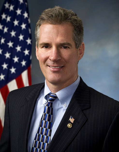 Scott Brown US Senate portrait photo