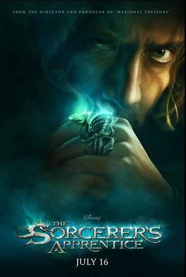 Sorcerers-Apprentice movie poster Nicolas Cage