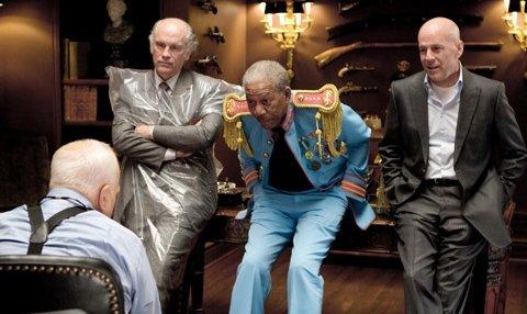 """Red"" : John Malkovich, Morgan Freeman and Bruce Willis"