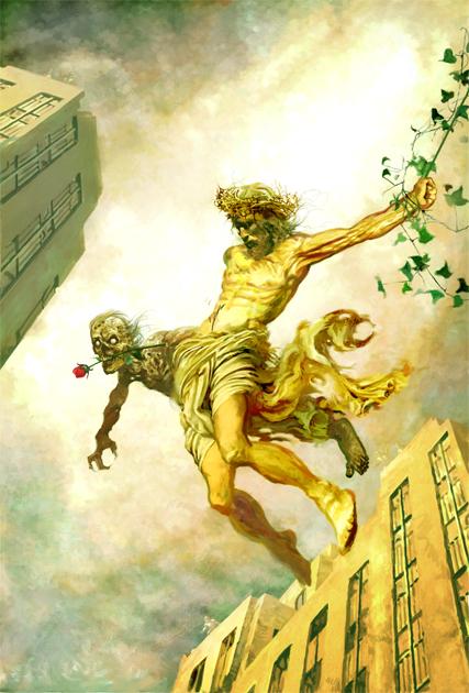 Jesus Hates Zomibe by Arthur Suydam