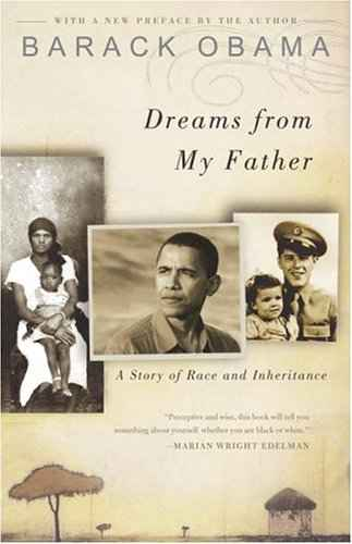 dreams_from_my_father book cover by Barack Obama