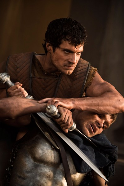 Cavill-Immortals with sword