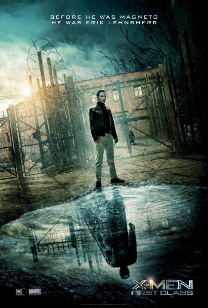 X-Men First Class Michael Fassbender Magneto-poster