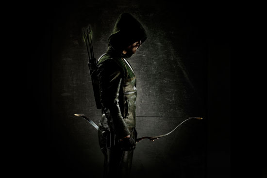 Arrow-first-look-suit Stephen AMell in full uniform