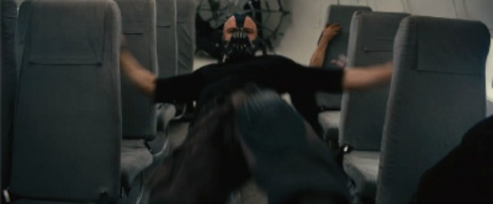 Bane-upside-down-plane-photo Dark Knight Rises