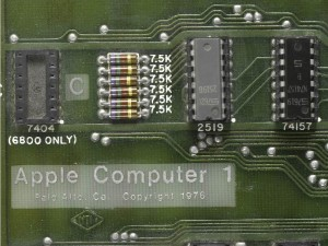 The Apple Computer changed technology forever, photo Apple Computer 1 for sale Sotheby's