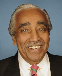 Portrait of US Rep. Charles B Rangel public domain