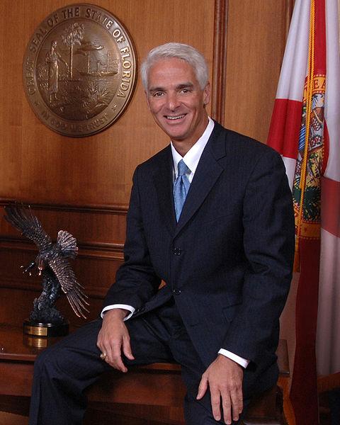 Governor Charlie Crist photo public domain