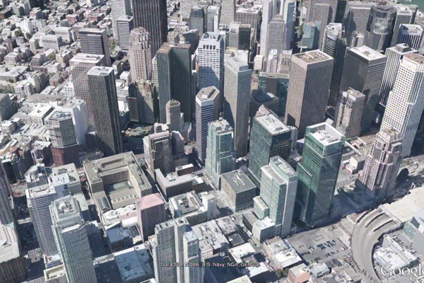 Google map 3D view youtube video