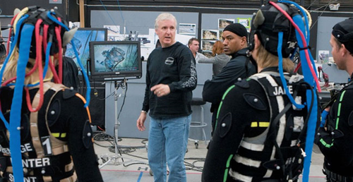 "James Cameron directing ""Avatar"" Photo/20th Century Fox"