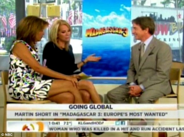 Kathie Lee Gifford asks Martin Short about dead wife