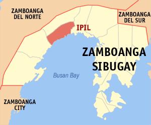 Zamboanga Sibugay map