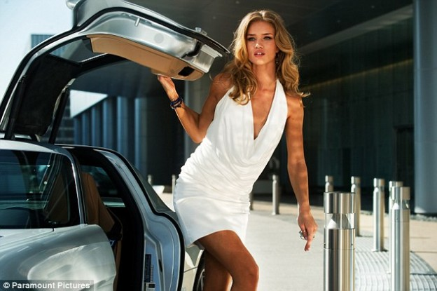 Rosie Huntington-Whiteley transformers