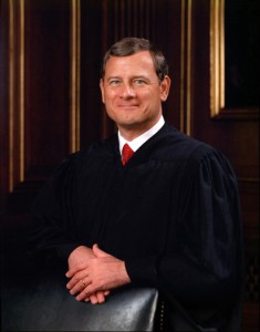 Official photo of Supreme Court Justice John Roberts by Steve Petteway, public domain