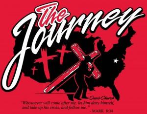 Journey Junior Garcia carry cross Texas Washington DC
