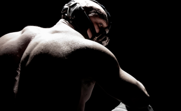 Tom Hardy as Bane in The Dark Knight Rises photo