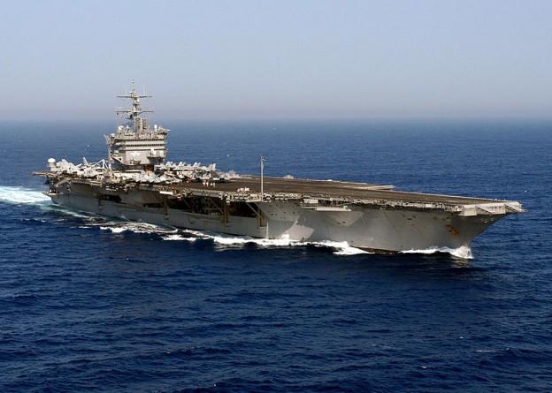 USS Enterprise aircraft carrier photo 2004