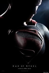 Superman Man of Steel comic con poster