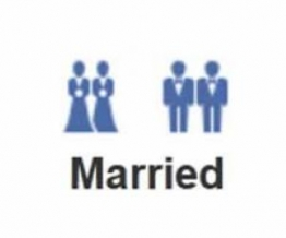 A Christian printing company in Ireland refused a gay wedding work order due to their religious beliefs facebook-gay-marriage-icon