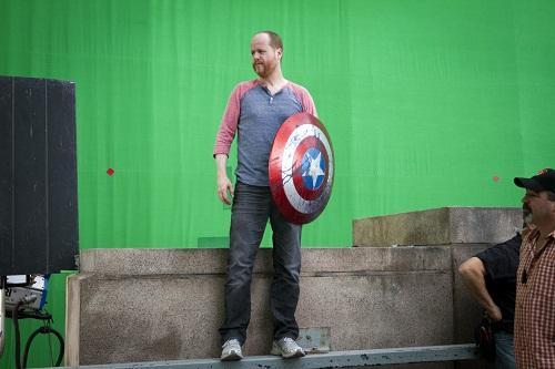 Joss Whedon on set of Avengers photo/Marvel Studios