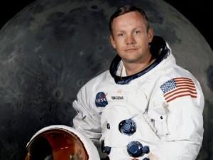 Neil Armstrong official NASA photo