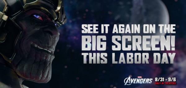 Thanos Avengers photo/banner