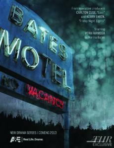 Bates Motel A&E teaser poster