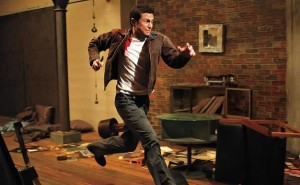 "Joseph Gordon Levitt in ""Looper"""