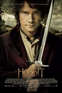 Martin Freeman Bilbo Baggins Hobbit poster