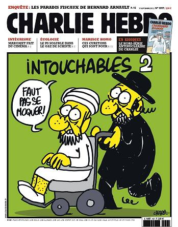 Muhammad cartoon in French magazine