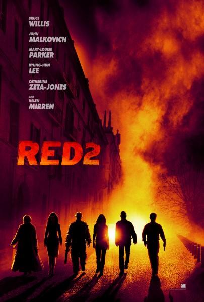 Red 2 teaser poster