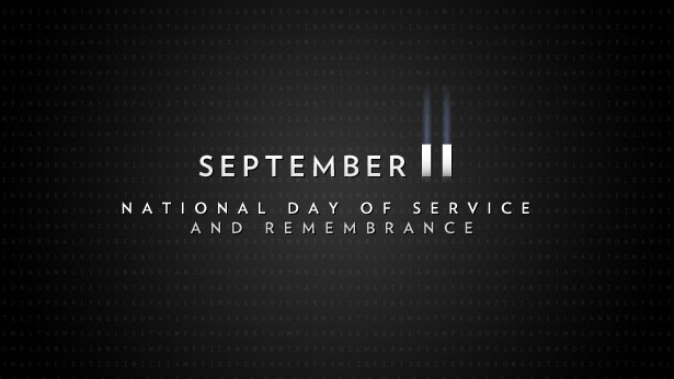 September 11 Day of Service and Remembrance banner from Whitehouse.gov